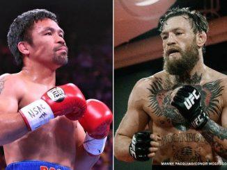 菲律賓拳王Manny Pacquiao將與MMA巨星Conor Mcgregor於2021年對戰