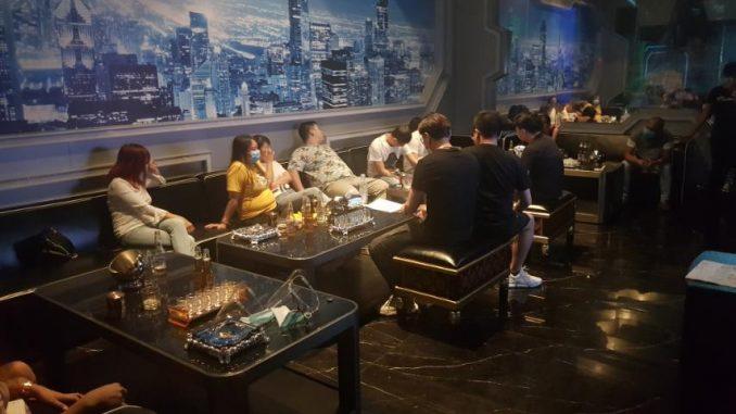 包含外國人在內97人於帕賽KTV酒吧違反一般社區隔離GCQ規定被逮補