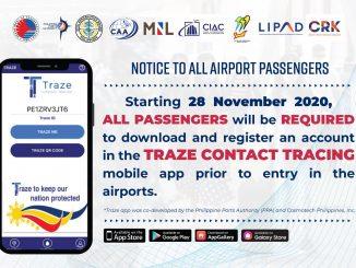 菲律賓機場登機旅客必備完整教學:Traze Contact Tracing應用程式