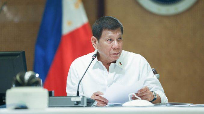 菲律賓總統杜特蒂將於今晚宣布2021年1月最新全國隔離規定