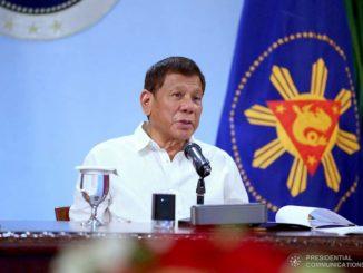 菲律賓總統杜特蒂宣布至2021年1月31日最新全國隔離規定
