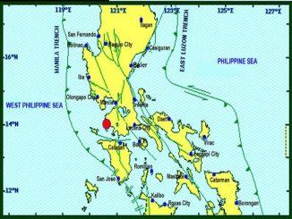 聖誕節八打雁省Calatagan產生6.3級地震-馬尼拉受震度影響