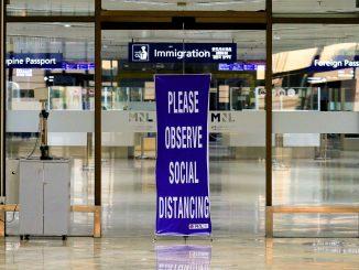 至2020年12月15日為止菲律賓國際旅客數量下降近80%比例
