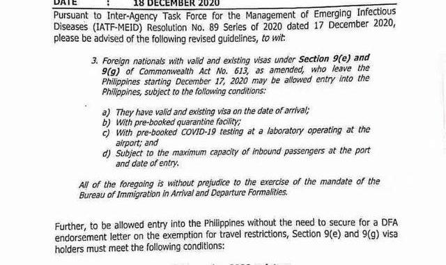 回菲律賓必看!拿著它離境可不辦額外手續直接重新入境