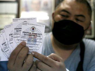馬尼拉市開始實施使用隔離通行證Quarentine pass