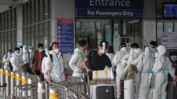菲律賓移民局警告外國人不遵守隔離規定將驅逐出境