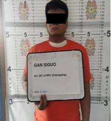 2名博彩公司中國員工和菲律賓人綁架中國人被捕