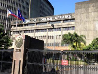 菲律賓外交部領事館DFA將於ECQ期間保持關閉