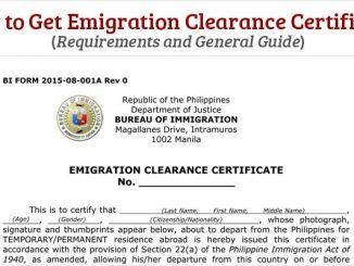 在菲律賓居住滿6個月必須清關ECC嗎?