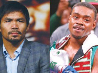 今年8月菲律賓拳王Pacquiao將與Spence對戰