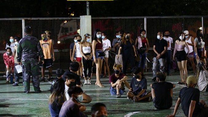 菲律賓國警PNP將拘留違反隔離規定者12小時