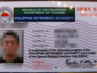 IATF批准菲律賓退休移民簽證SRRV免文件入境