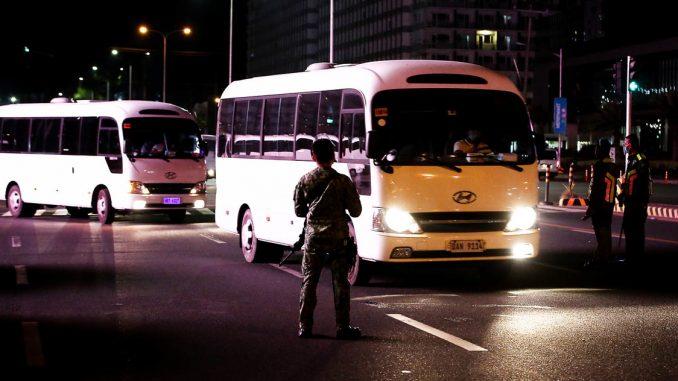 馬尼拉大都會區Metro Manila更新宵禁時間規定