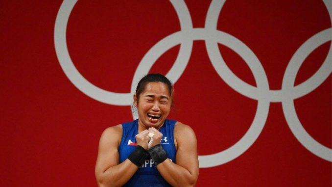 Hidilyn Diaz舉重奧運金牌獲超過3500萬披索獎金