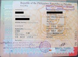 在菲律賓期間簽證逾期罰款相關詳細說明