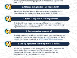 菲律賓衛生部回答ECQ期間疫苗接種常見問題