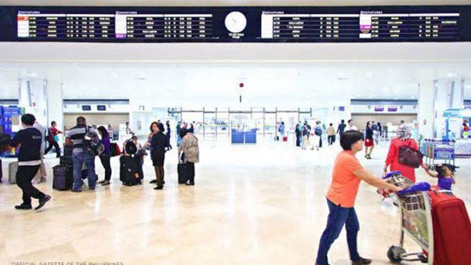 馬尼拉大都會區ECQ期間國內外航班取消清單