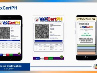 10月菲律賓將推出VaxCertPH數位疫苗接種證書