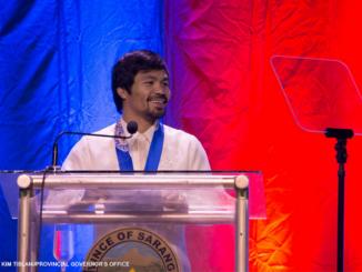菲律賓拳王Pacquiao宣布競選2022總統