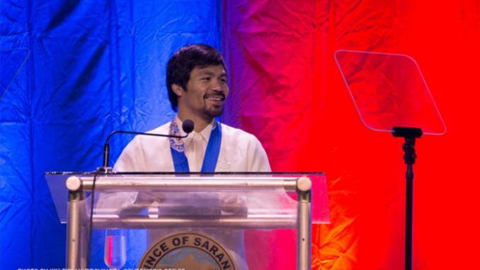菲律宾拳王Pacquiao宣布竞选2022总统